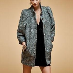Rachel Roy | Tweed Knitted Coat | 6
